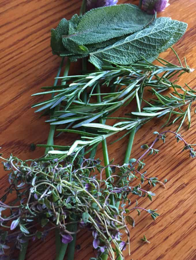 Herb and Garlic Compound Butter
