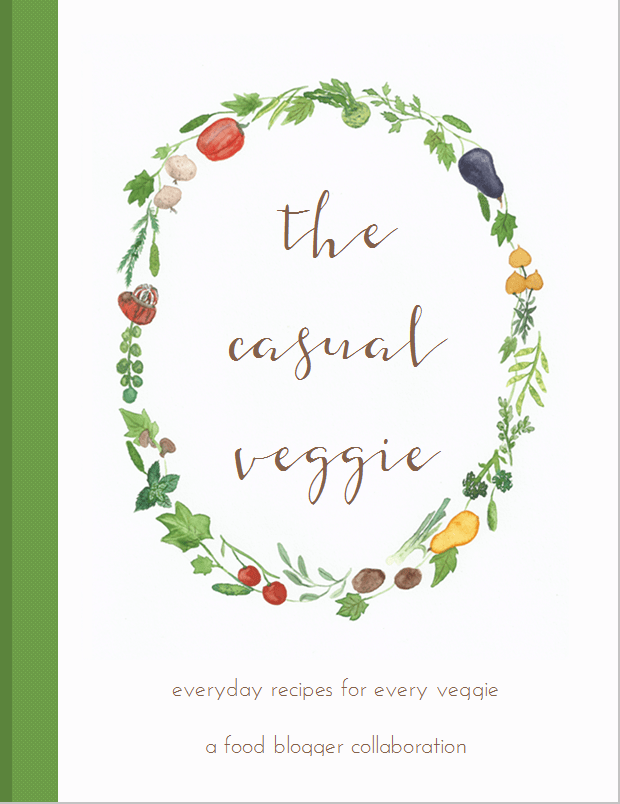Casual veggie book
