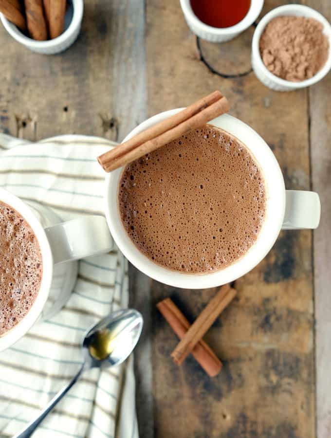 Mexican Mocha (Dairy-Free + Paleo Friendly)