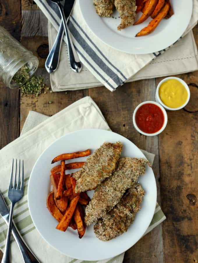 Baked Ranch Chicken Tenders (Paleo + Whole30)