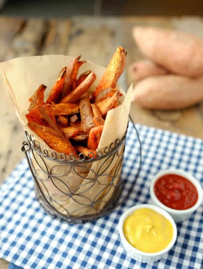 Simple Sweet Potato Fries (Paleo + Whole30)
