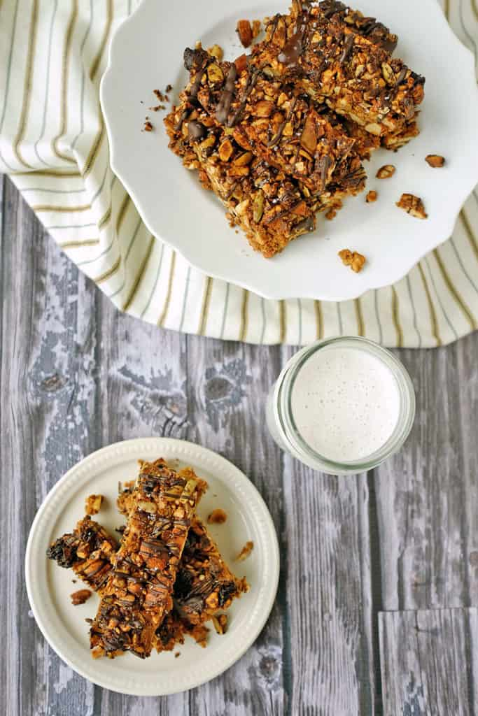 Paleo Fruit and Nut Granola Bars two