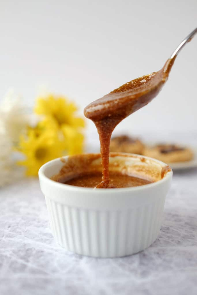 Salted caramel sauce two
