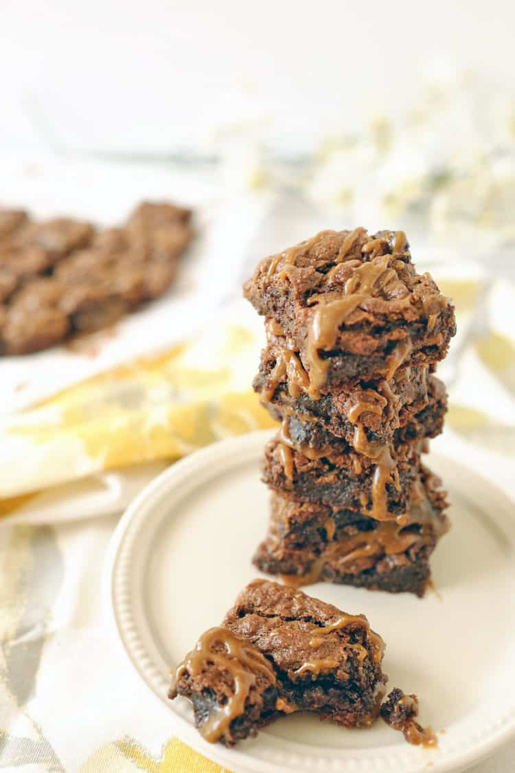 Give these salted caramel double chocolate brownies a try, and let us ...