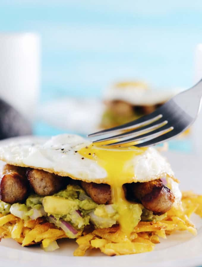 Paleo Breakfast Stacks (GF + Dairy-Free)