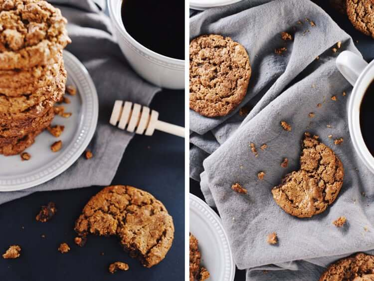 These Paleo pumpkin snickerdoodles are super easy to make and contain no eggs, so it's guilt-free spoon and bowl licking once they're in the oven! Paleo, Gluten-Free, Dairy-Free, Egg-Free + Refined Sugar-Free. | realsimplegood.com