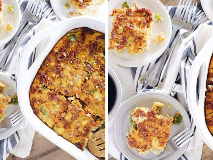 This southwest chorizo breakfast casserole is such an easy way to make sure that you have time for a solid breakfast during the busy work week. Paleo, Gluten-Free + Dairy-Free. | realsimplegood.com