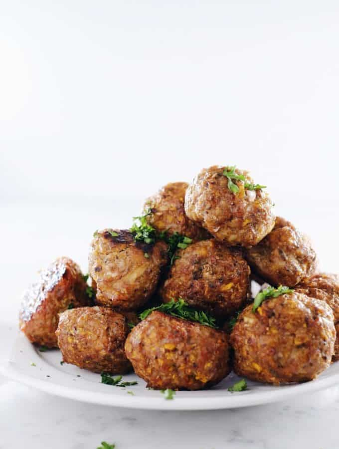 Butternut Breakfast Meatballs (Paleo, GF + Egg-Free)
