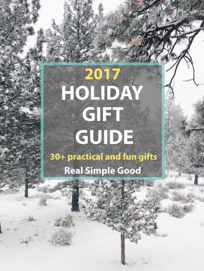 2017 Holiday Gift Guide (30+ Practical & Fun Gifts)