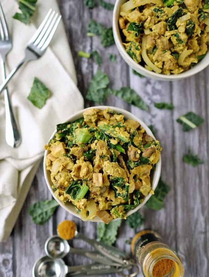 Curry Scrambled Eggs (Paleo + Whole30)