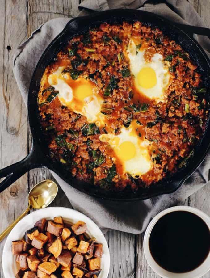 Easy Shakshuka Recipe (Paleo + Whole30)