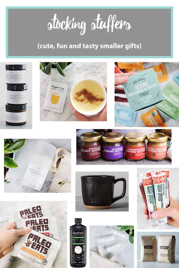Our 2017 Holiday Gift Guide has picks For the Foodie, For Her, For Him and Stocking Stuffers - with special discount codes for some stocking stuffers, too! | realsimplegood.com #holidaygiftguide #gift #holidays