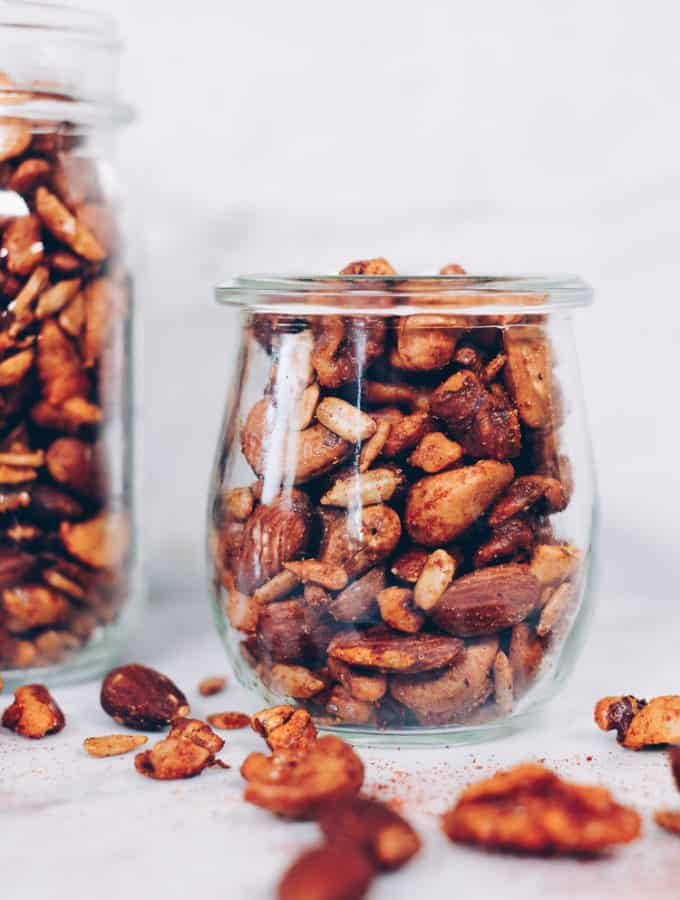 Paleo Spiced Nuts (Quick, Easy + Whole30)