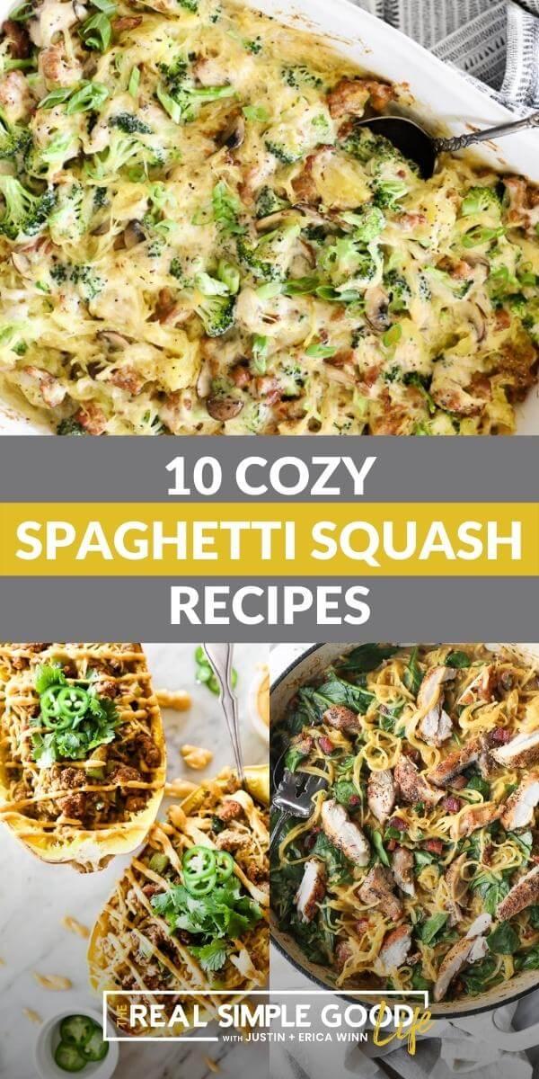 10 Cozy Spaghetti Squash Recipes