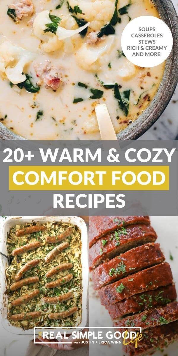 Warm and Cozy Comfort Food Recipes