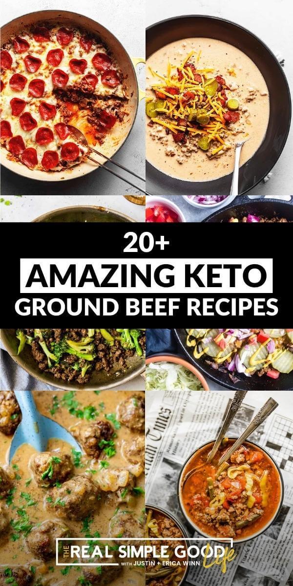 20+ Amazing Keto Ground Beef Recipes