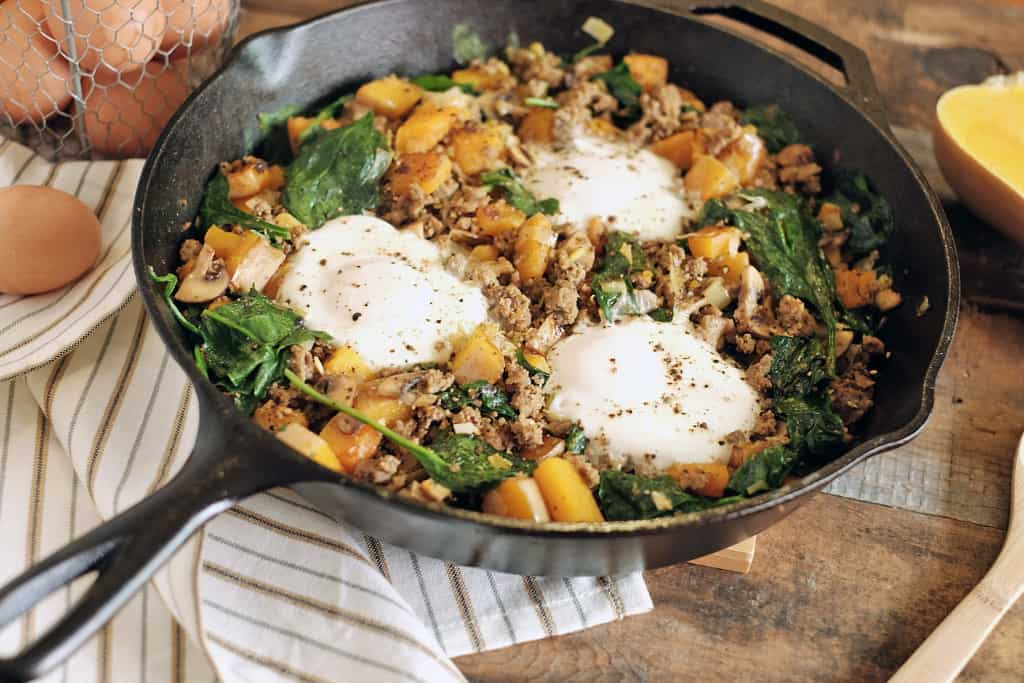 Paleo breakfast hash two
