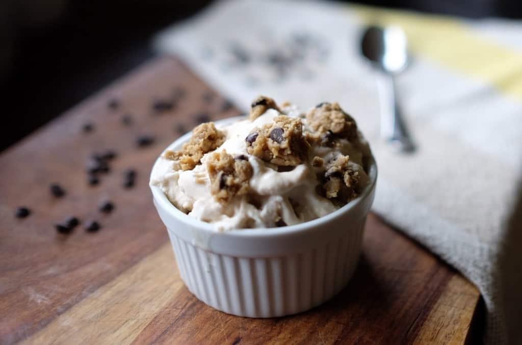 Paleo Chocolate Chip Cookie Dough Ice Cream