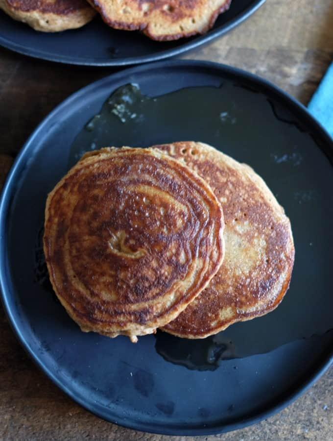 Paleo Cinnamon Spice Pancakes
