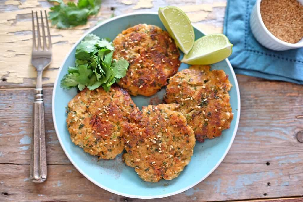 Sesame Ginger Fish Cakes