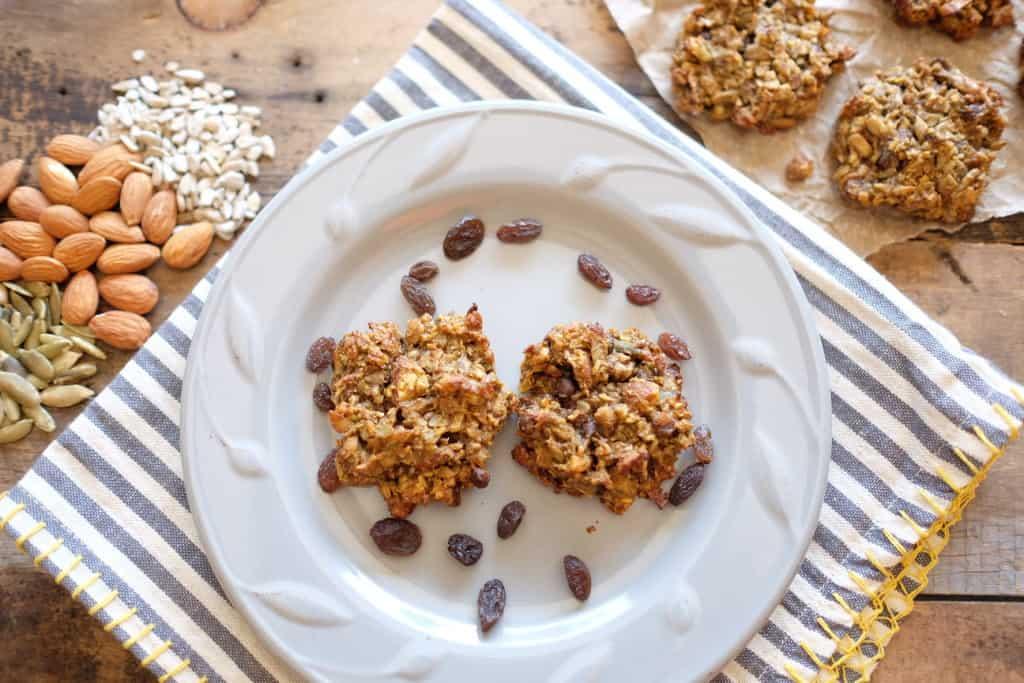 Pumpkin granola cookies 2