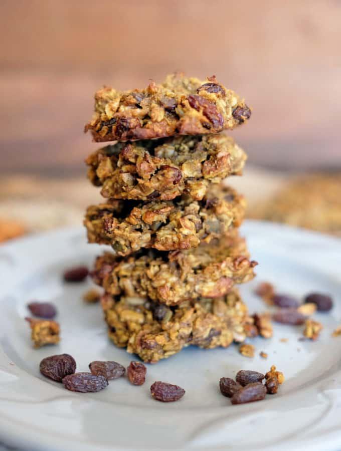 Paleo Pumpkin Granola Cookies