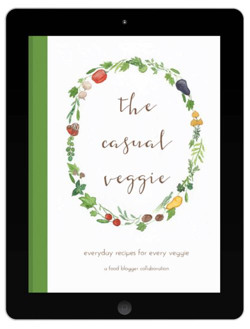 Casual veggie ebook