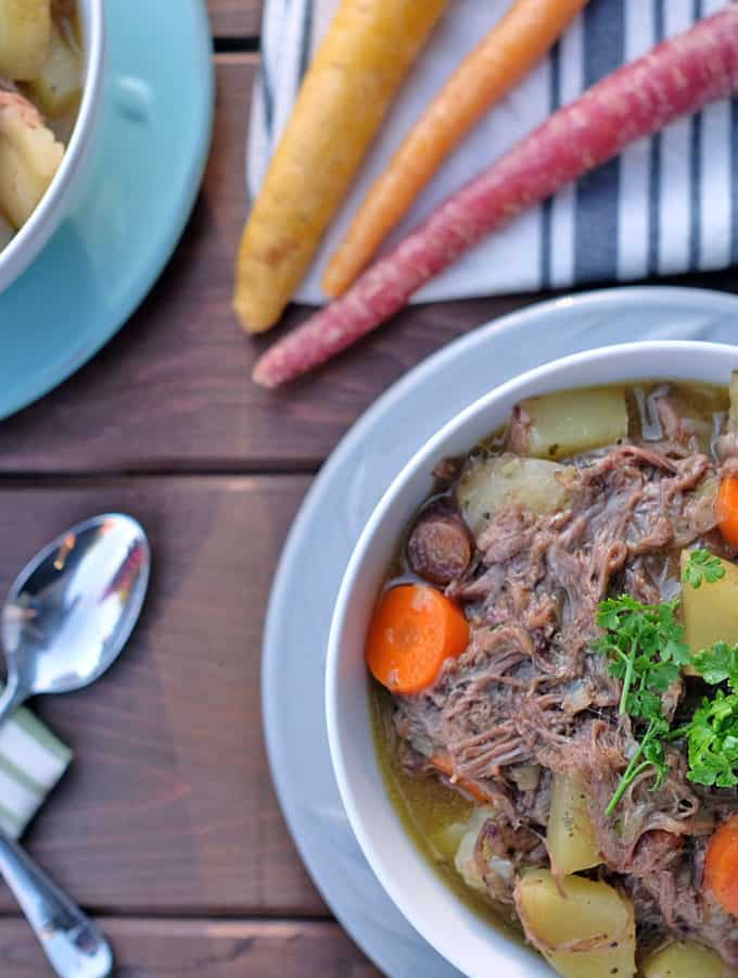 Shredded Beef Stew