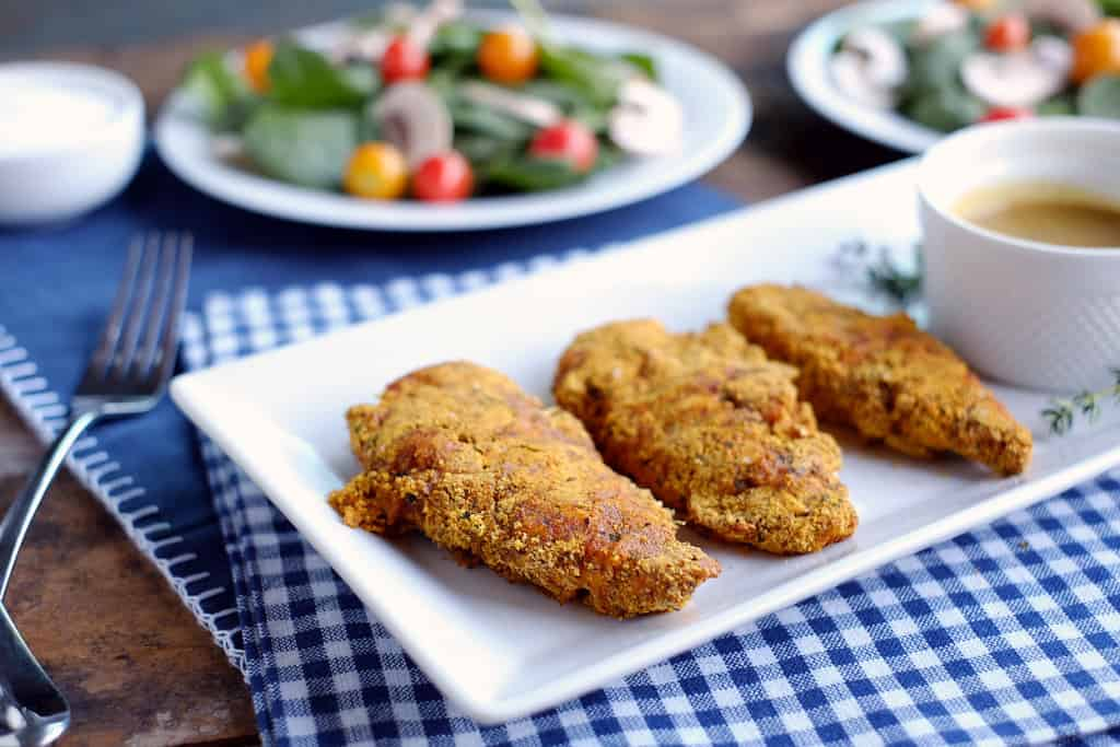 Baked chicken tenders two