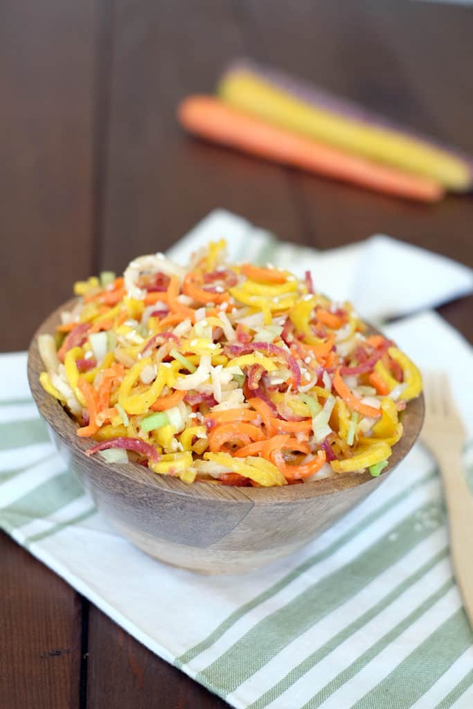 Carrot ginger salad two