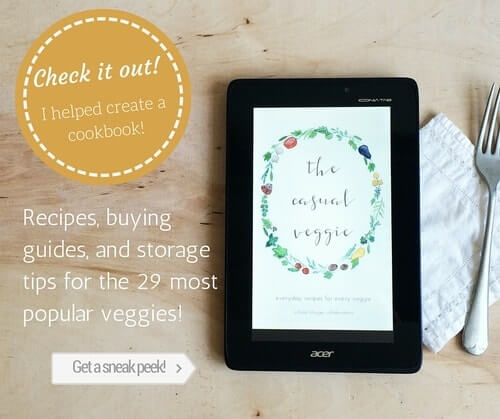 The Casual Veggie Cookbook: Sneak Peek
