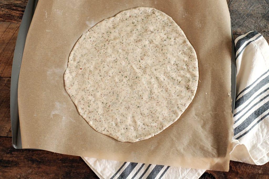 Paleo pizza crust three