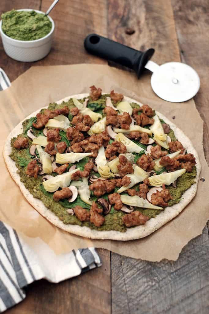Paleo pizza crust two