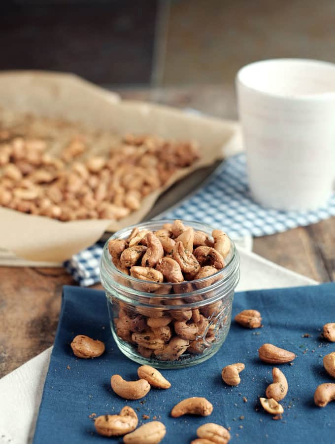 Ranch Roasted Cashews