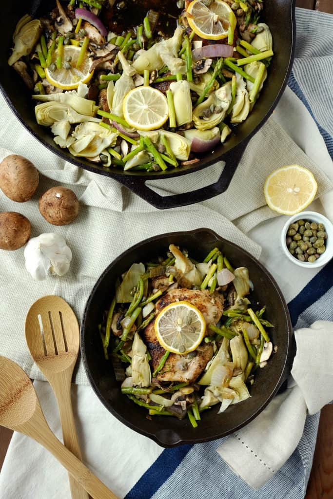 This Paleo + Whole30 one pan dish of chicken with artichoke and capers will delight your family with unique flavor and is ready in 30 minutes!Paleo + Whole30.   realsimplegood.com