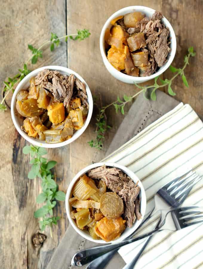 Crockpot Beef Roast and Veggies (Paleo + Whole30)