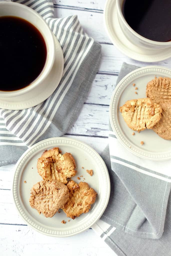 Cream cashew butter cookies three