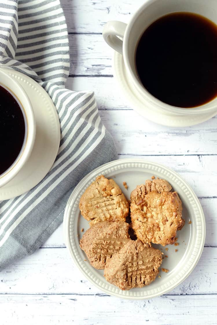 Creamy Cashew Butter Cookies