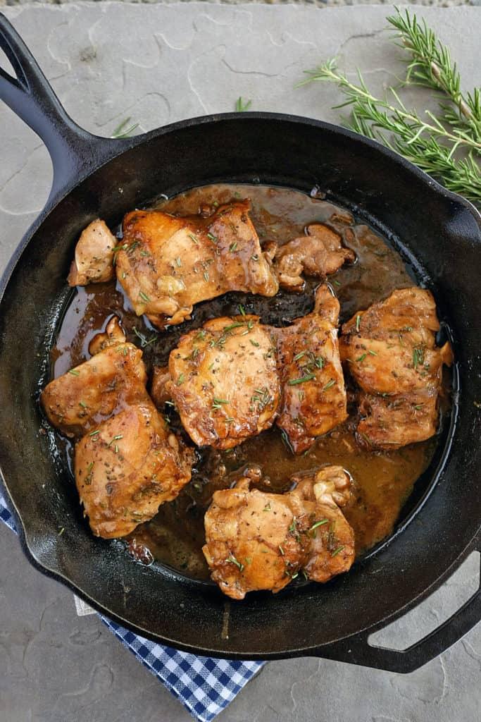 balsamic honey mustard chicken two
