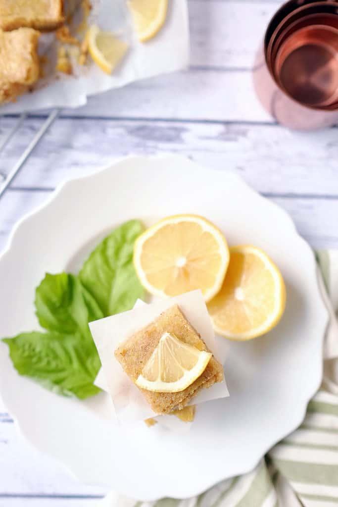 Paleo lemon bars two