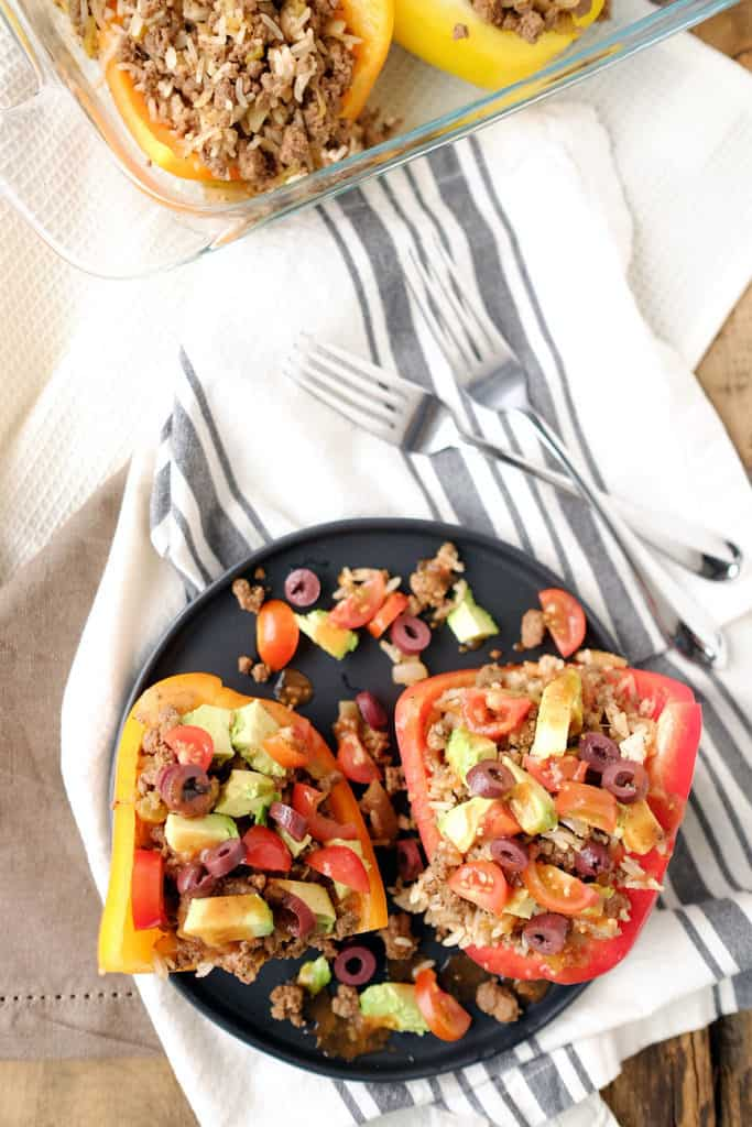This is such an easy meal with so much flavor, it's kind of absurd. These Paleo + Whole30 taco stuffed bell peppers look so amazing and taste even better! Paleo + Whole30.   realsimplegood.com