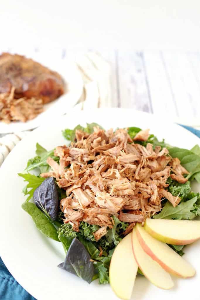 Crockpot honey balsamic pork chops