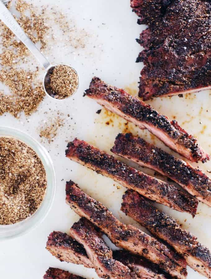 Coffee Rubbed Steak (Paleo + GF)