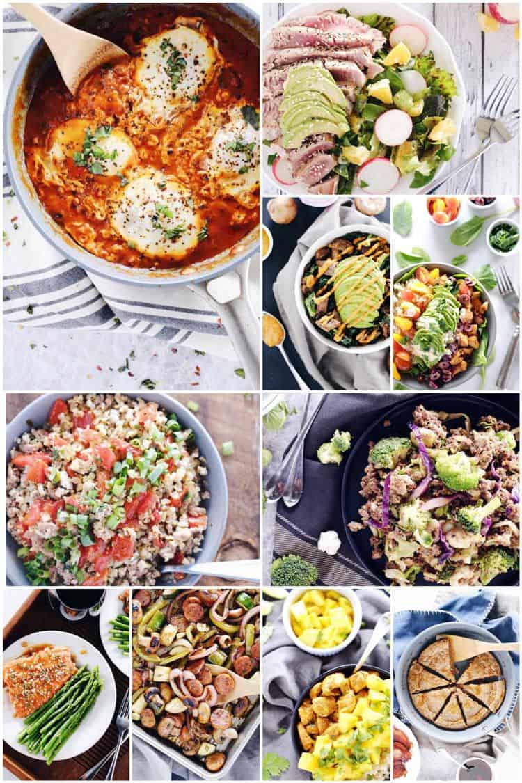 Our 30 minute Paleo meals cookbook features 30 simple and healthy Paleo meals. All recipes are 7 ingredients or less and cook in 30 minutes or less.