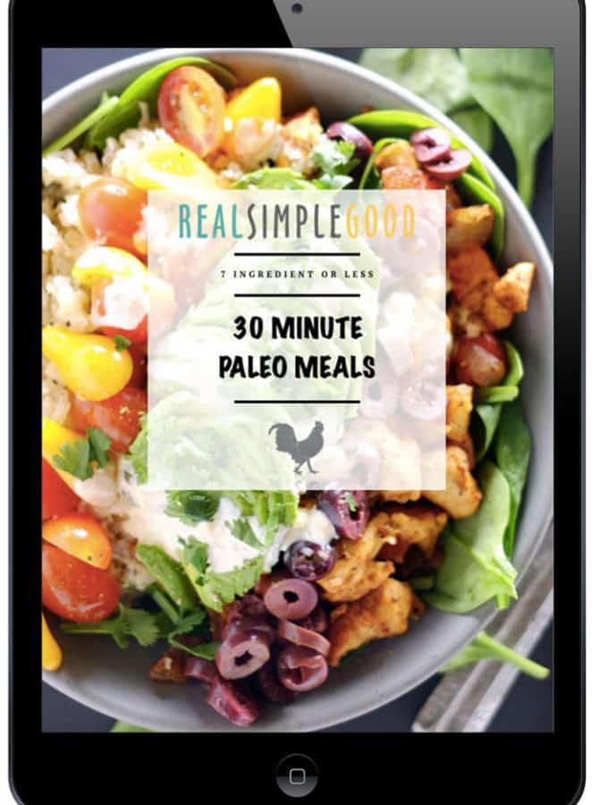 Pre-Order Our 30 Minute Paleo Meals eCookbook + an exciting bonus!