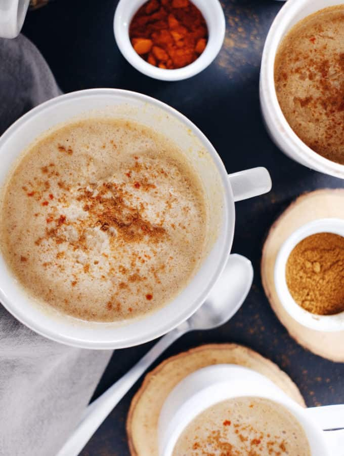 Spiced Pumpkin Coconut Cider (Dairy-Free + Refined Sugar-Free)