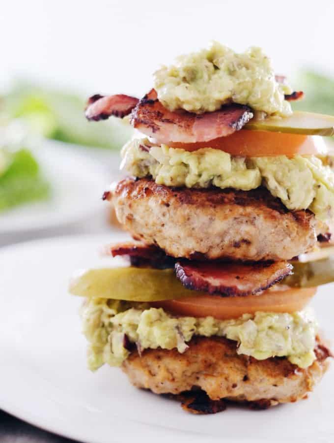Chipotle Turkey Burgers (Paleo, Whole30 + Dairy-Free)
