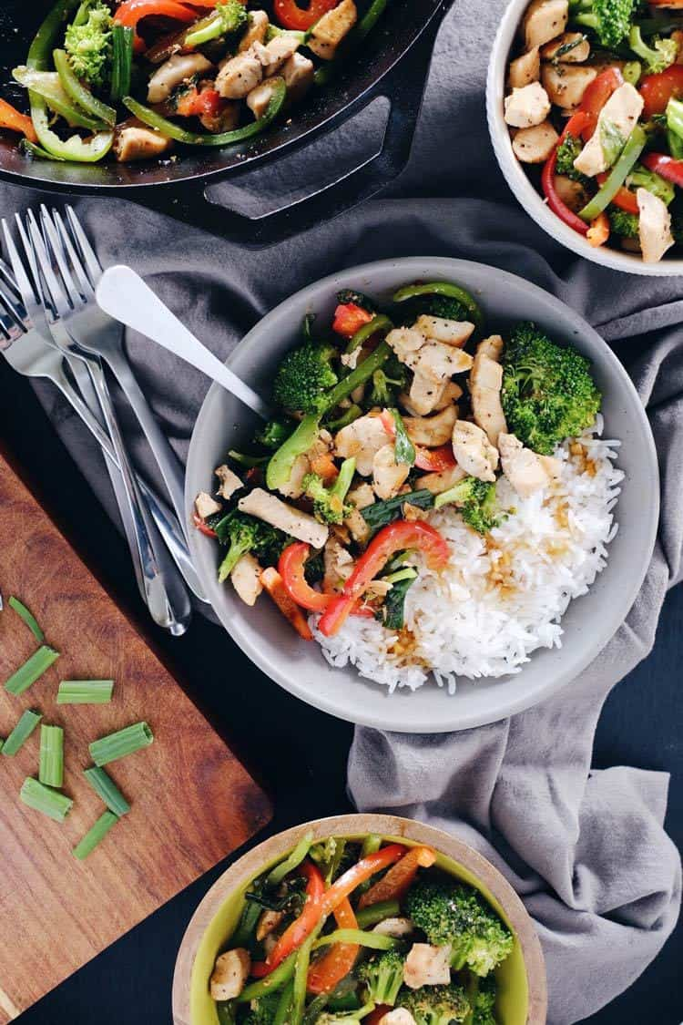 As far as Paleo makeovers go, this teriyaki chicken stir-fry was due! It's super simple, yet bursting with flavor from the garlic, ginger and fresh veggies! Paleo, GF, Soy-Free + Refined Sugar-Free.   realsimplegood.com