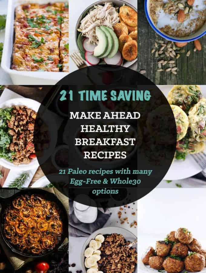 21 Healthy Make Ahead Breakfast Recipes