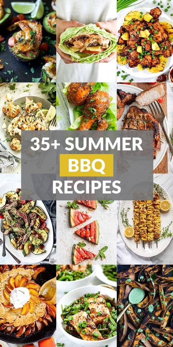 35+ Summer BBQ Recipes